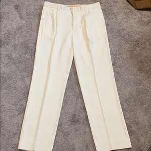 MENS TOMMY BAHAMA SILK TROUSERS